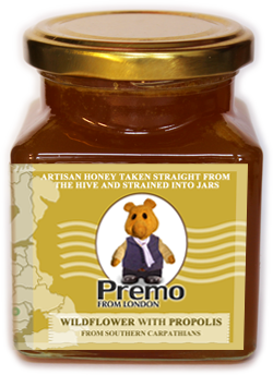 Premo from London Wildflower with Propolis Honey